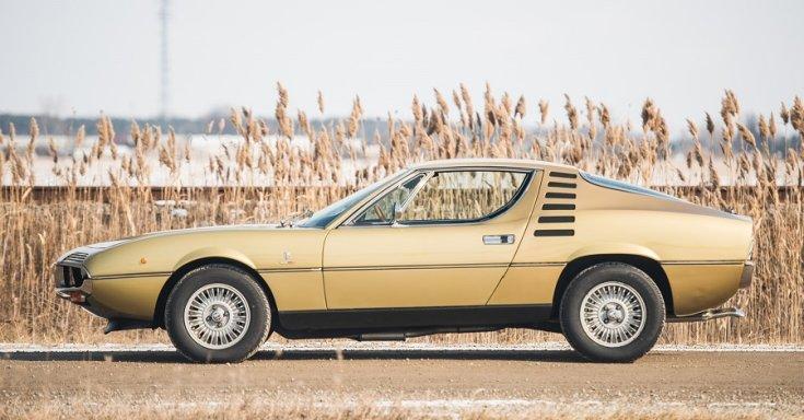 1970 Alfa Romeo Montreal, RM Sotheby's Aukció, oldalnézet