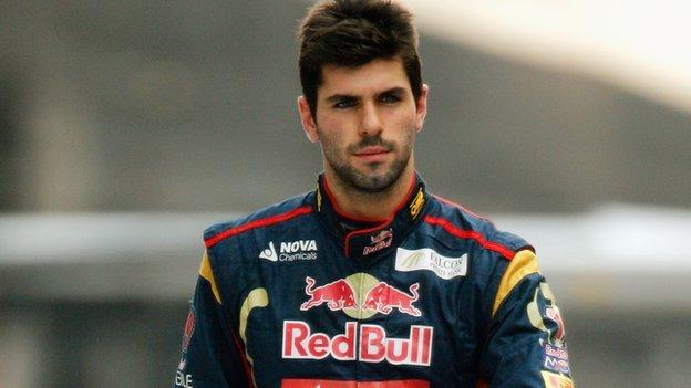 Jaime Alguersuari a Toro Rosso szerelésében