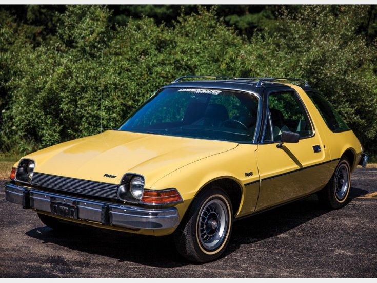 Hudson Hornet, NASCAR, AMC Pacer, sárga, oldalnézet, elölről, balról, RM Sotheby's