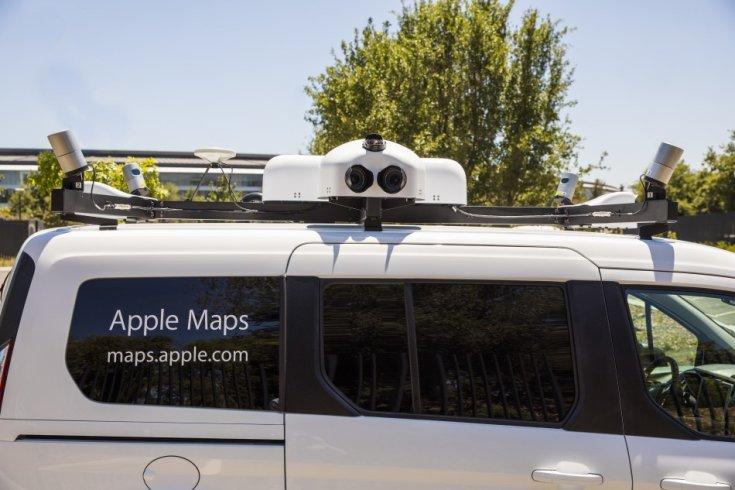 Apple Maps autó