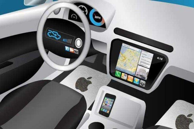 Apple autó beltere