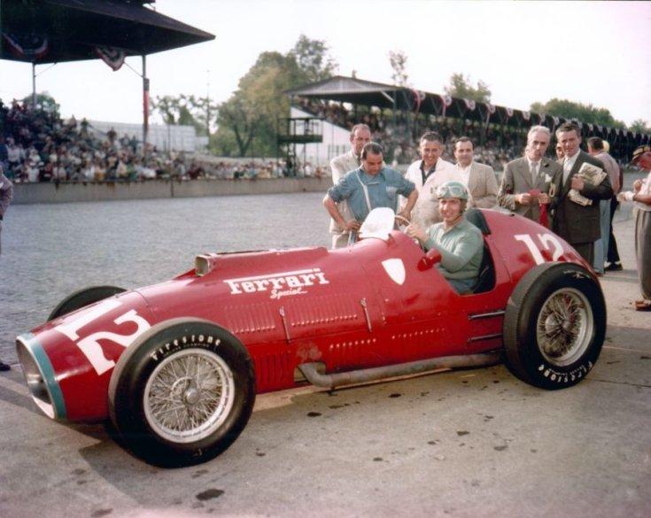 Alberto Ascari az 1952-es Indianapolis 500-on