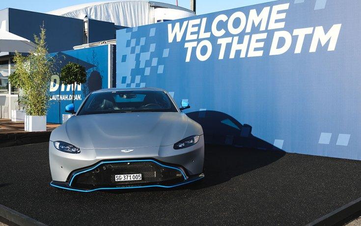 A DTM új gyártója az Aston Martin