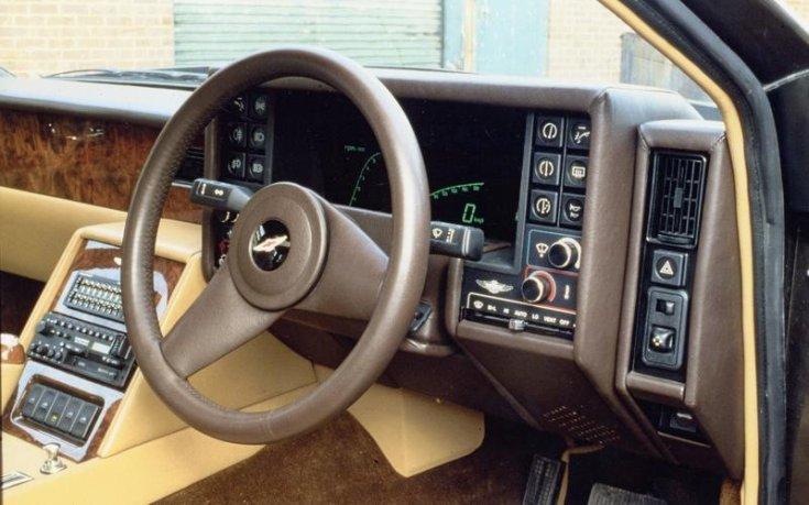 Aston Martin Lagonda belső