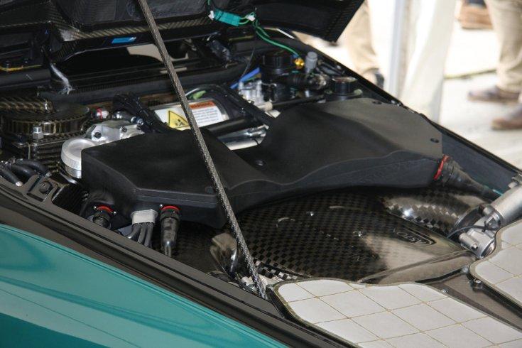 Aston Martin Valkyrie motortere