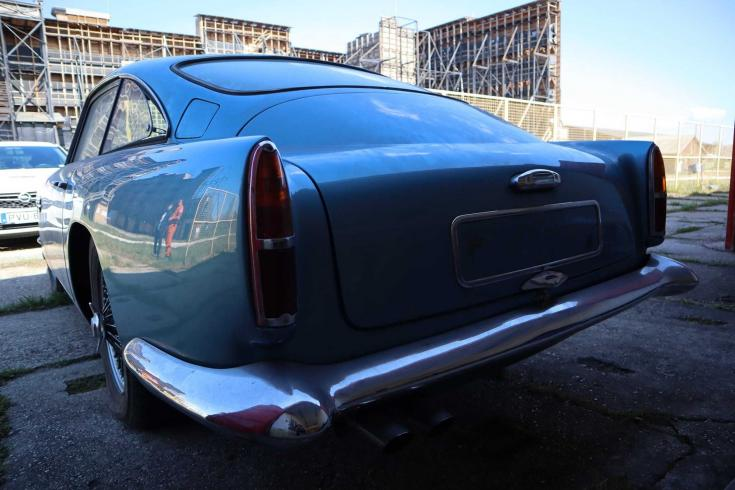 Aston Martin DB4 Coupe series II.