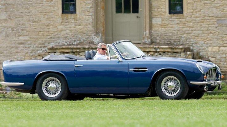 Károly herceg Aston Martinja