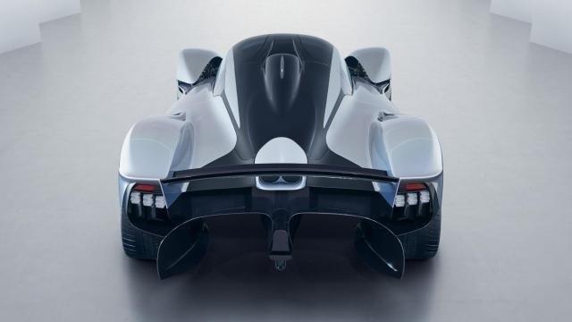 Aston Martin Valkyrie hátulról
