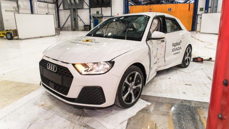 Audi A1 Euro NCAP törésteszt
