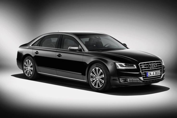 Audi A8L Security, stúdiókép