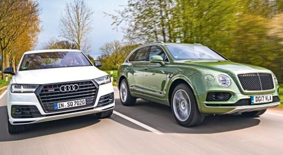 Audi és Bentley egy képen