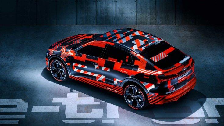 Audi e-tron Sportback hátulról