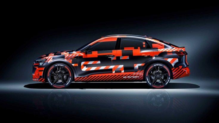 Audi e-tron Sportback oldalról