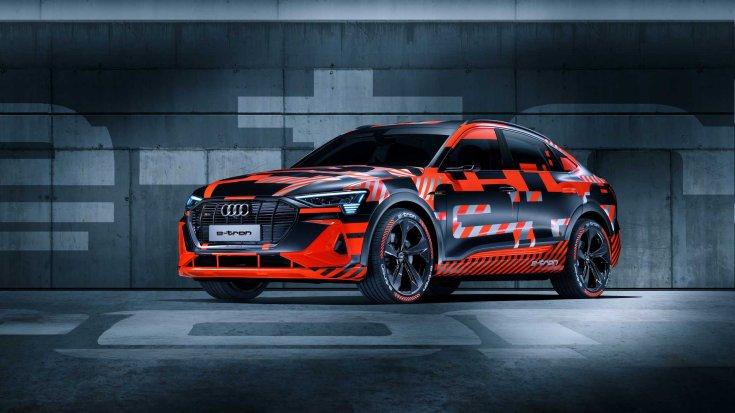 Audi e-tron Sportback elölről
