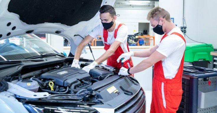 Zajlik a termelés a győri Audi-gyárban