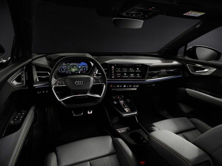 Audi Q4 e-tron utastere
