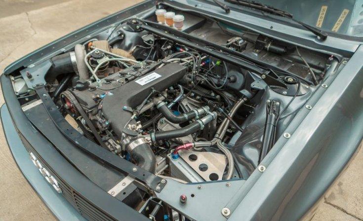 Audi Quattro Sport motor