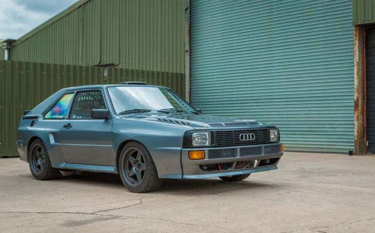 Audi Quattro Sport Retropower