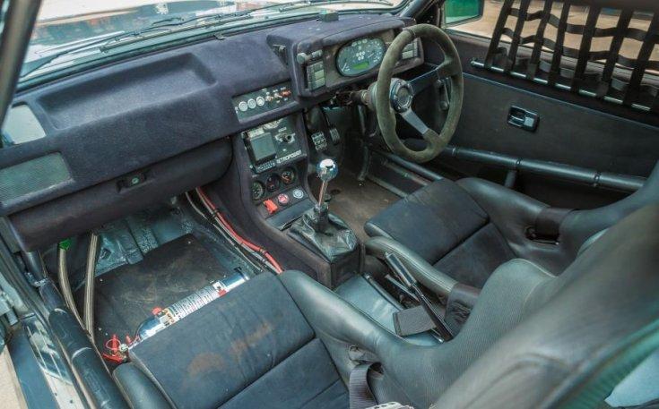 Audi Quattro Sport interior