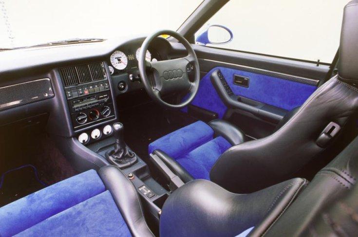 Audi RS2 belső