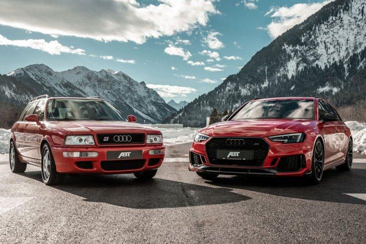 Audi RS2 és Audi RS4