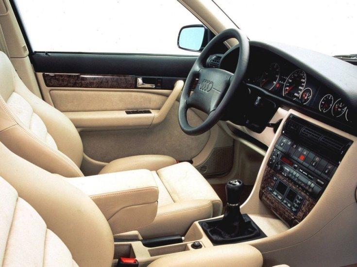 Audi S6 belső