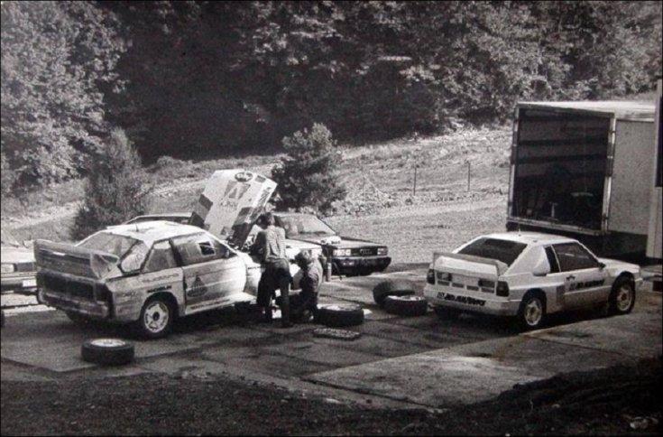 Audi Sport Quattro tesztelés