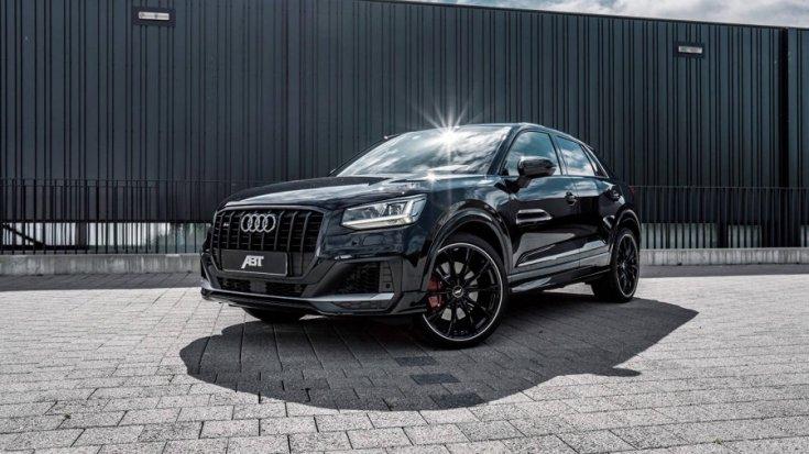 Audi SQ2 ABT tuning fekete színben