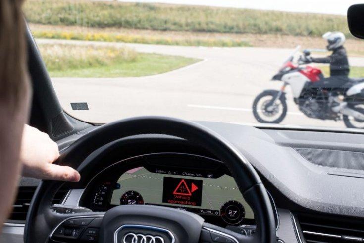 Audi vezetéstámogató rendszer