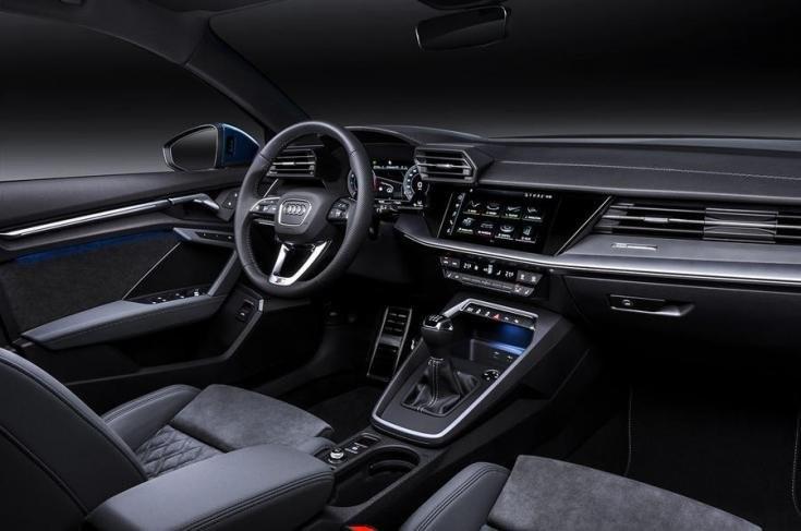2020-as Audi A3 Sportback belső tere