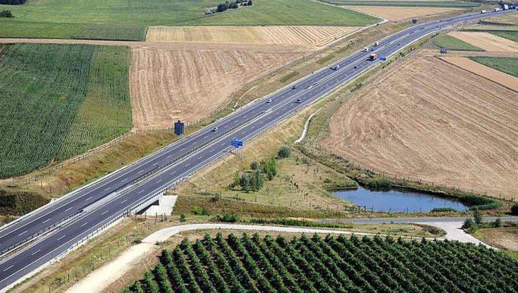 Az M7 autópálya egyik szakasza