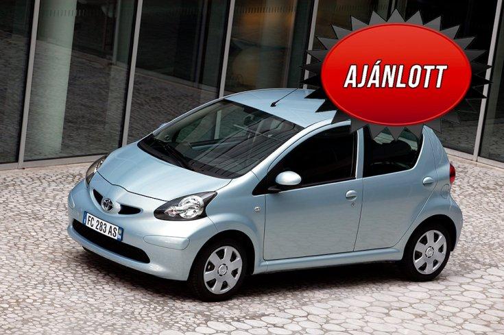 2021-es modellévű Toyota Aygo