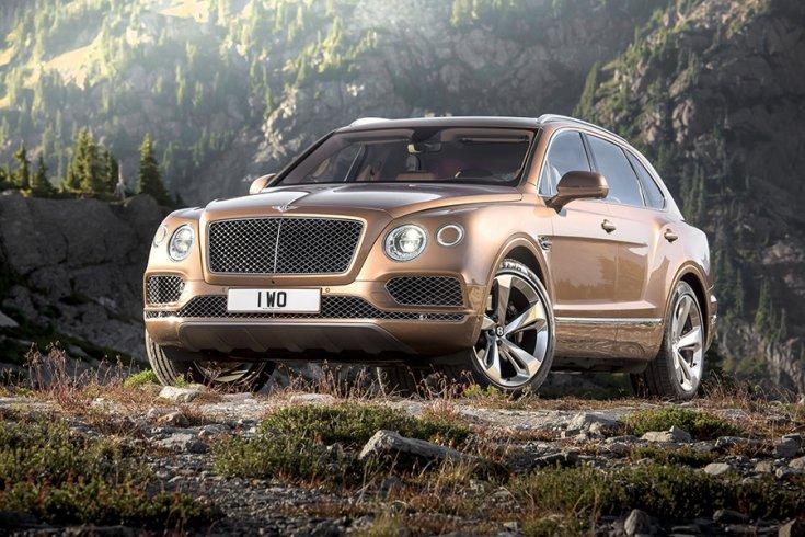Bentley Bentayga W12