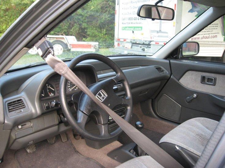 Honda Civic, automatikus biztonsági öv