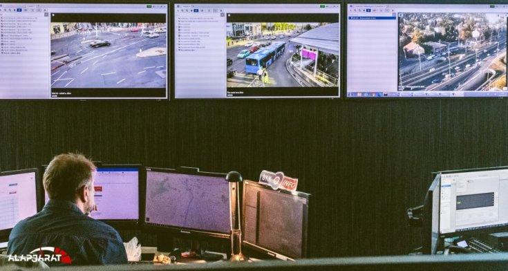 BKK figyelő monitorok