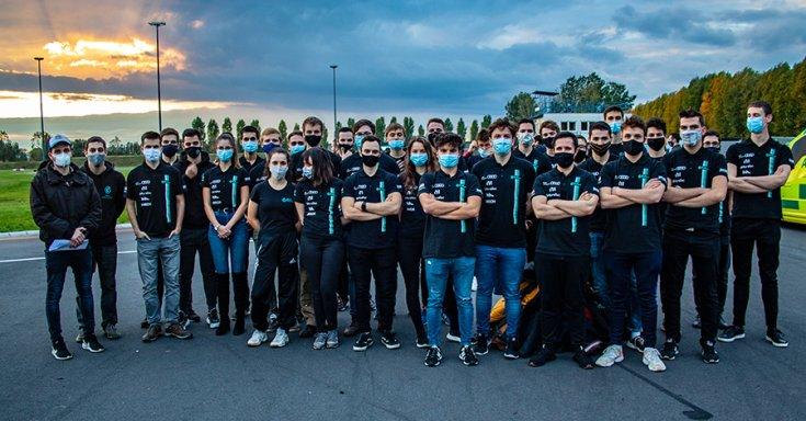 A BME Motorsport 2020-as csapata