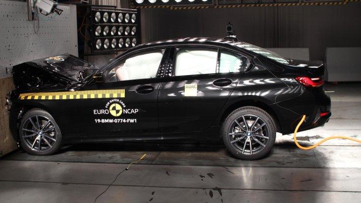 BMW 3 Euro NCAP törésteszt