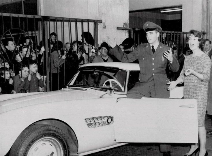 Elvis Presley BMW 507-se