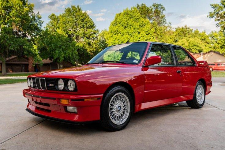 BMW E30 M3 aukció