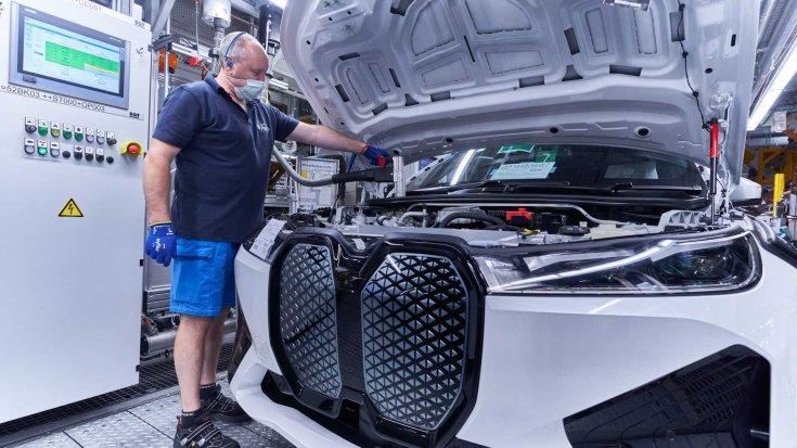BMW iX gyártása