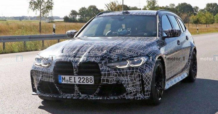 BMW M3 Touring eleje