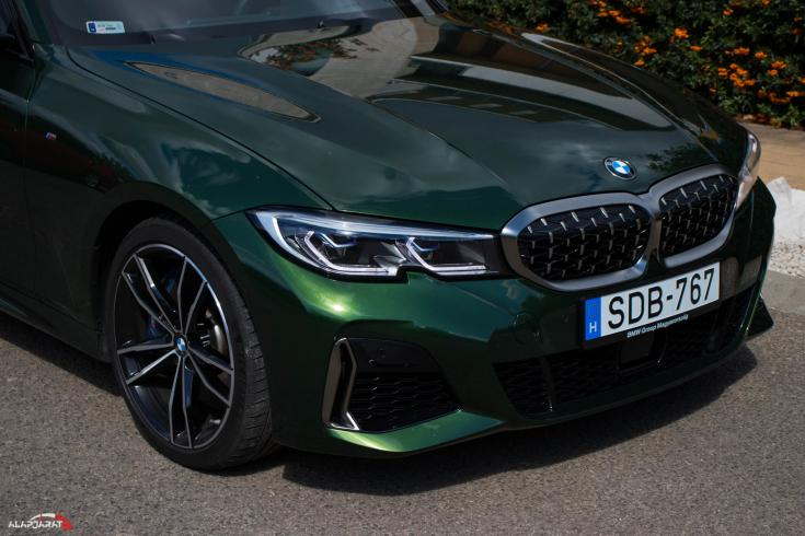 BMW M340i teszt Alapjárat