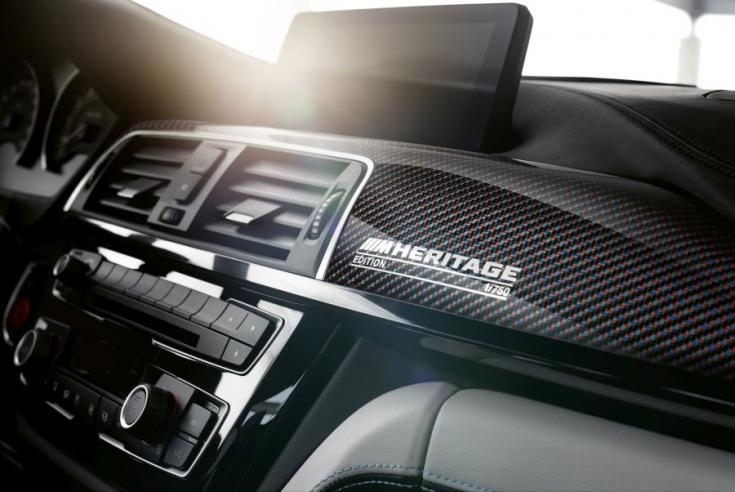 BMW M4 Edition M Heritage beltér