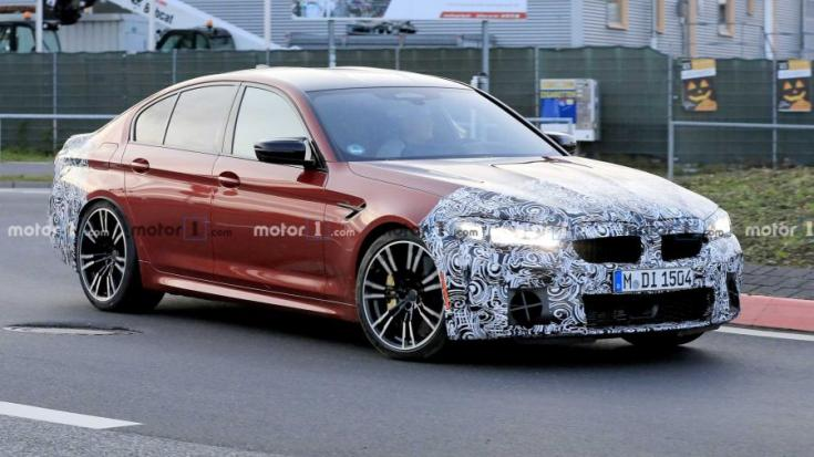 BMW M5 nürburgring