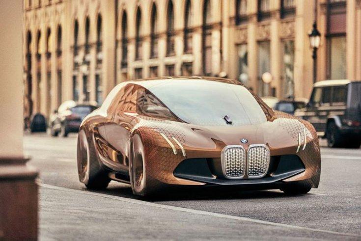 BMW önvezető tanulmányautója