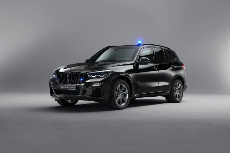 BMW X5 Protection VR6, stúdiókép