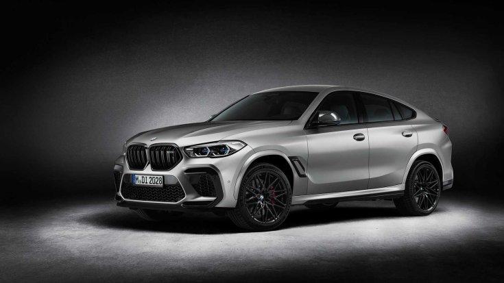 BMW X6 M Competition féloldalról