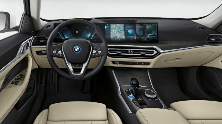 BMW i4 utastere