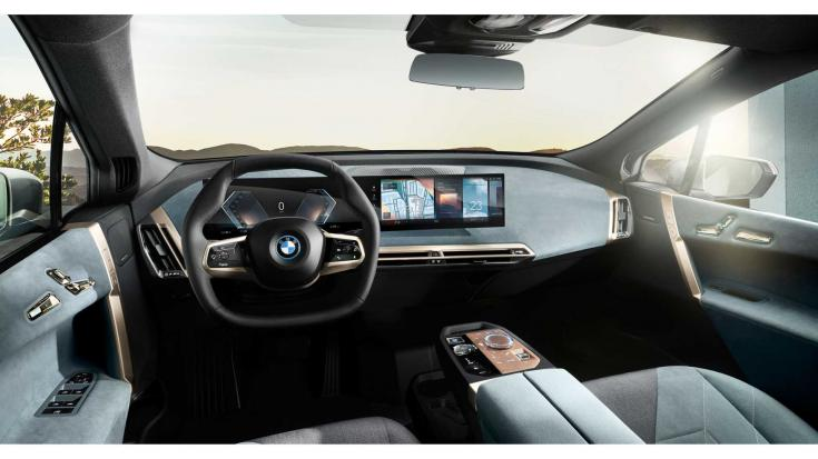 A BMW iX utastere