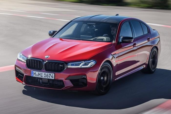 BMW M5 elölről